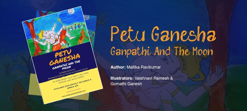 Petu Ganesha: Ganpathi and the Moon