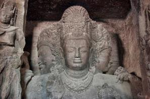 trimurti at elephanta
